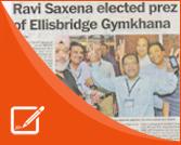 In The Press - Ravi S Saxena